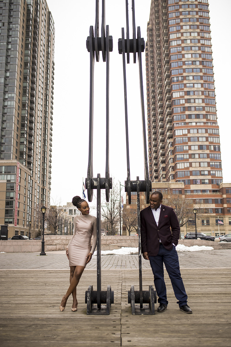 African American engagement photogrpaher