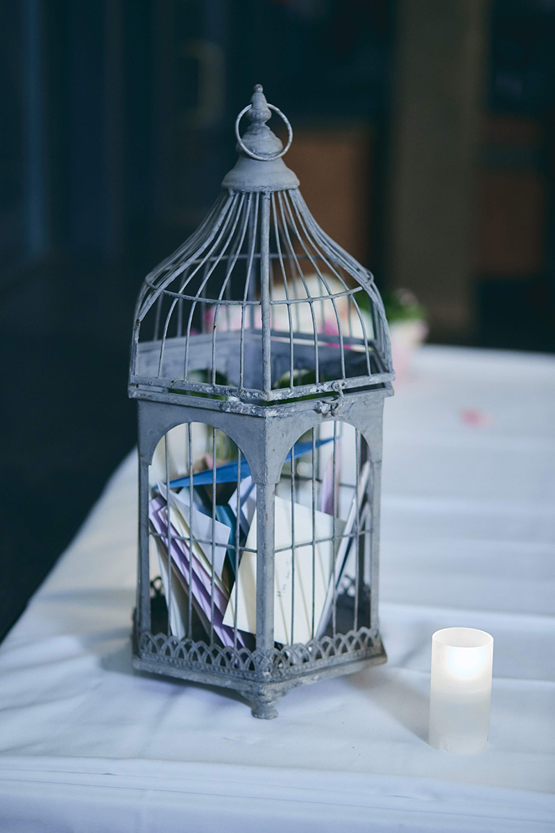wedding gift cage