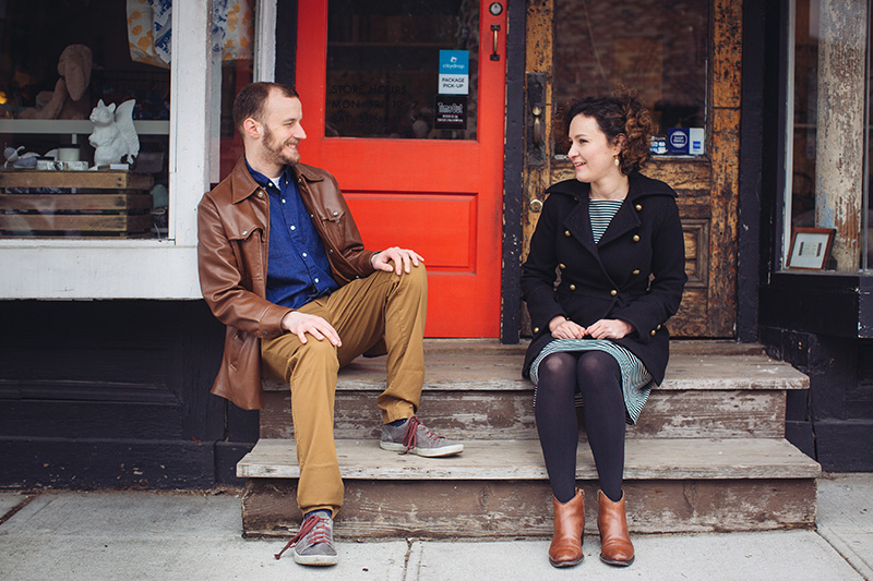 Red Hook Brooklyn engagement