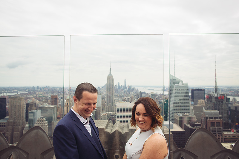 Rockefeller Center wedding