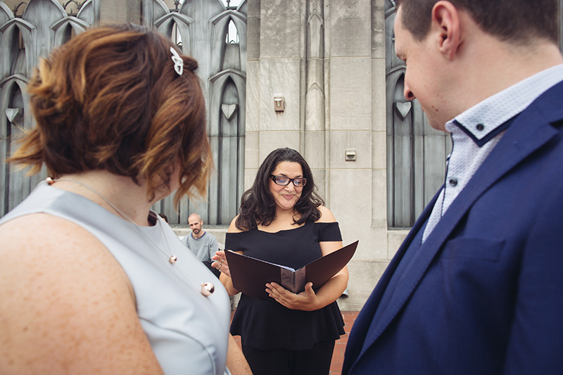 NYC wedding officiant