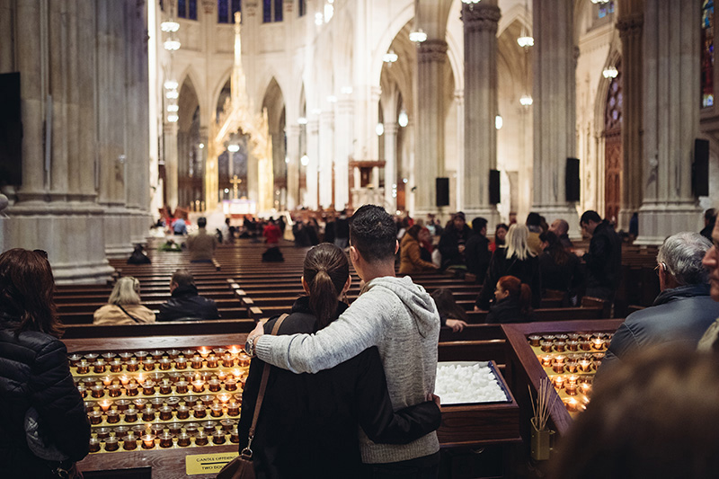 St. Patrick's Cathedral engagement