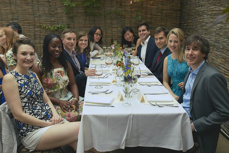 group wedding table shot