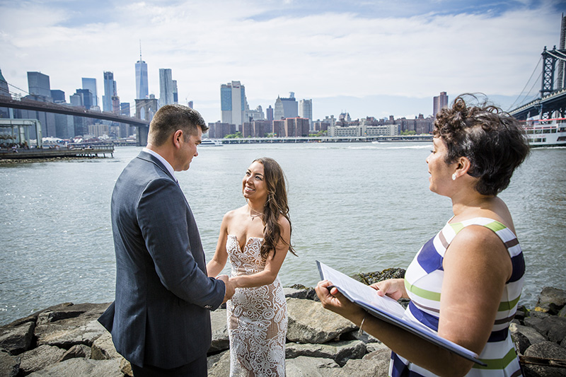 Elopement ceremony