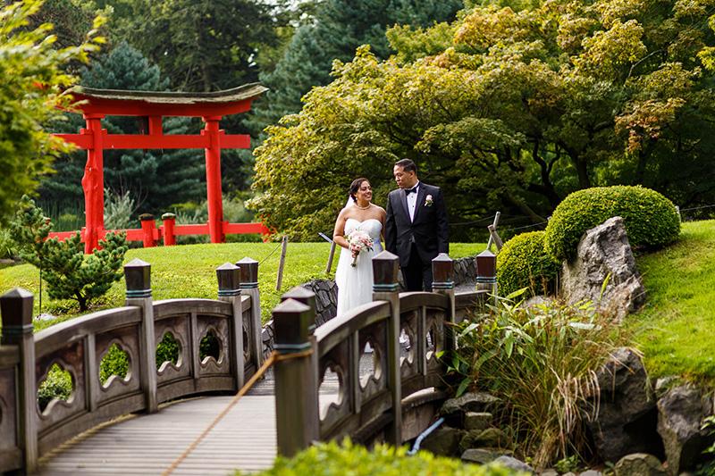 Brooklyn Botanical Garden elopement