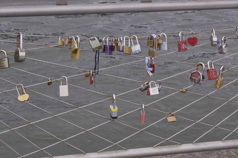 wedding love padlock