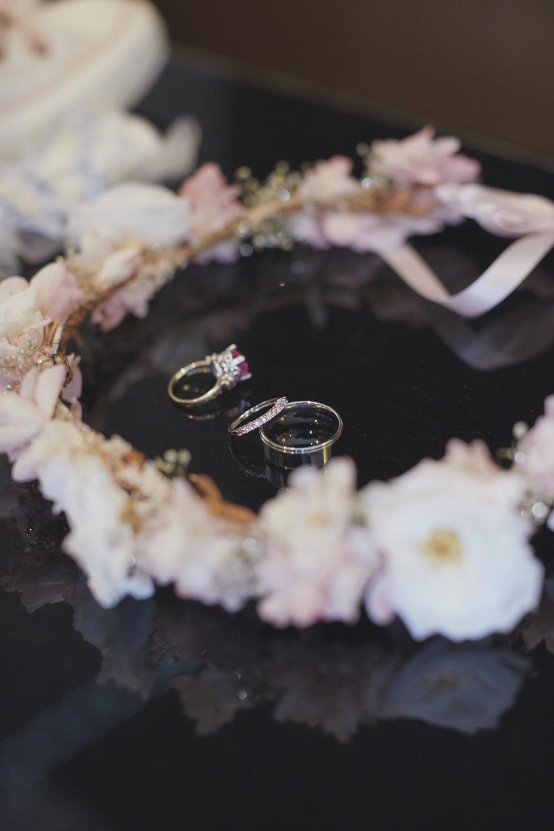 wedding floral wreath