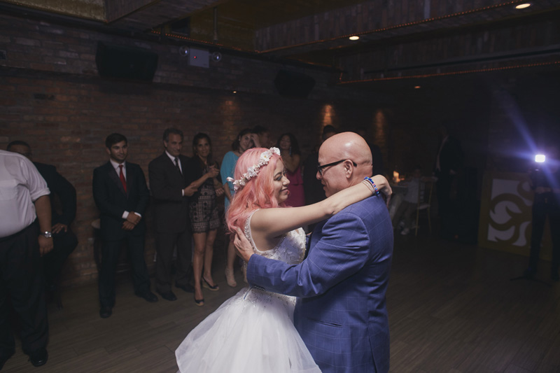 first bride and father dance