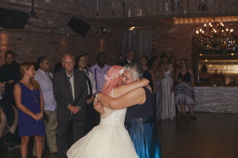 first bride and mother dance