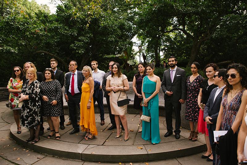 Shakespeare Garden elopement