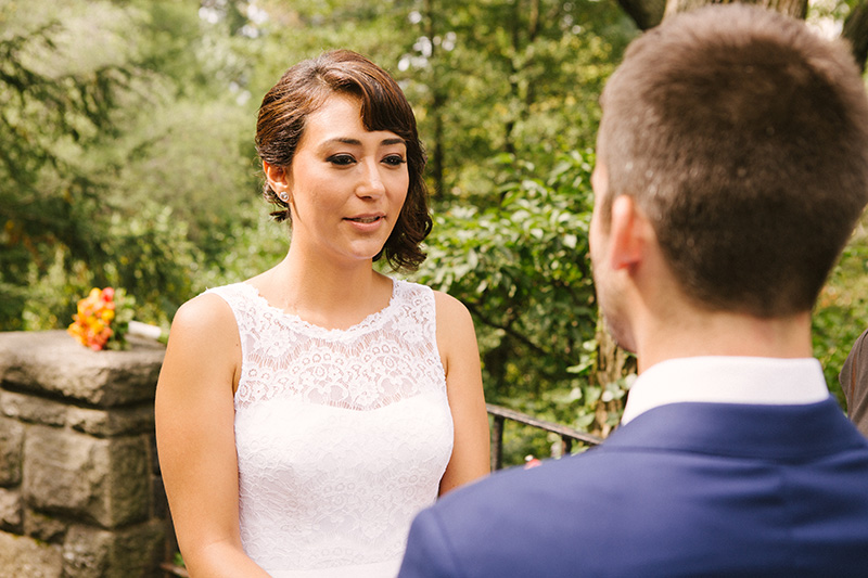 elopement in central park