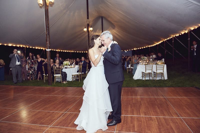 bride's dance with father