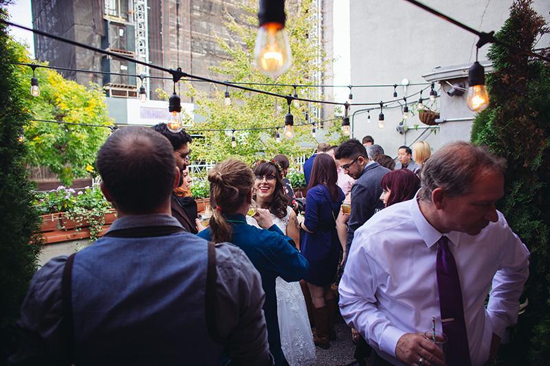 Sunday in Brooklyn wedding