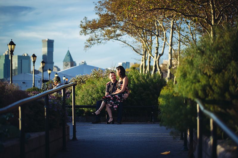 Battery Park engagement