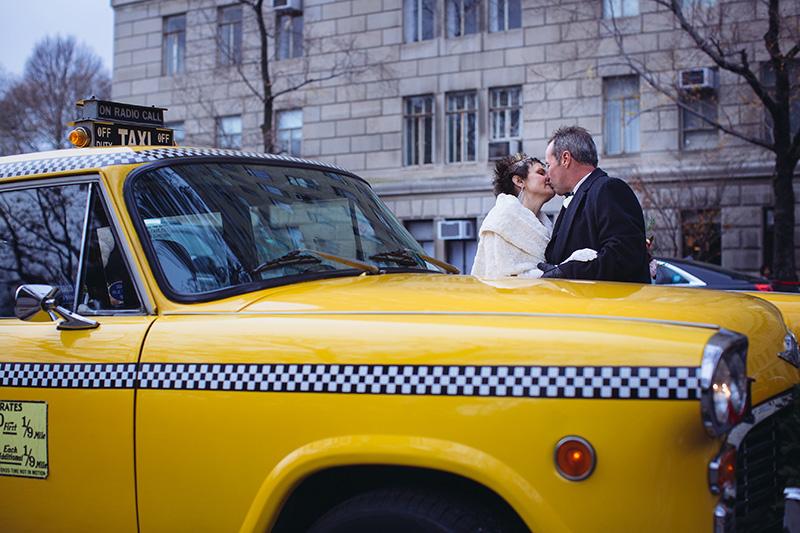Checkers cab NYC