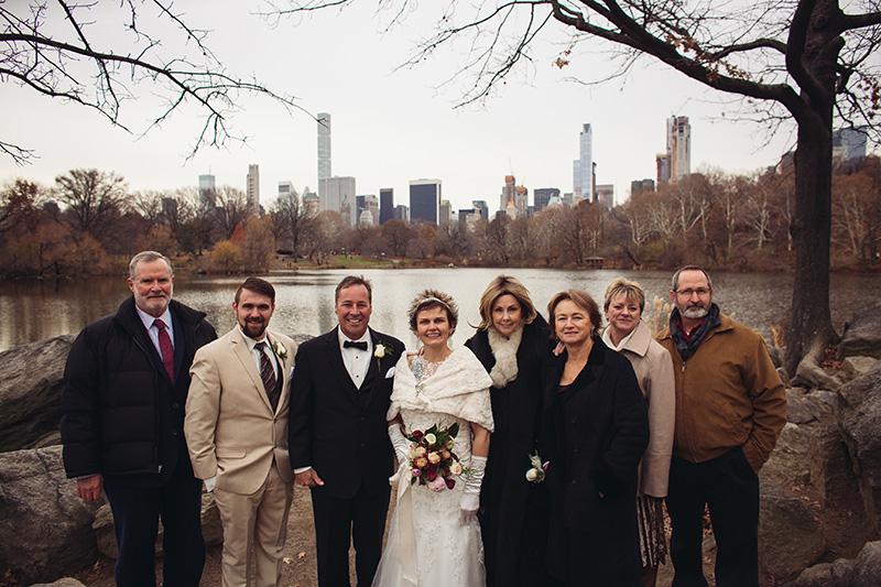 group wedding shot