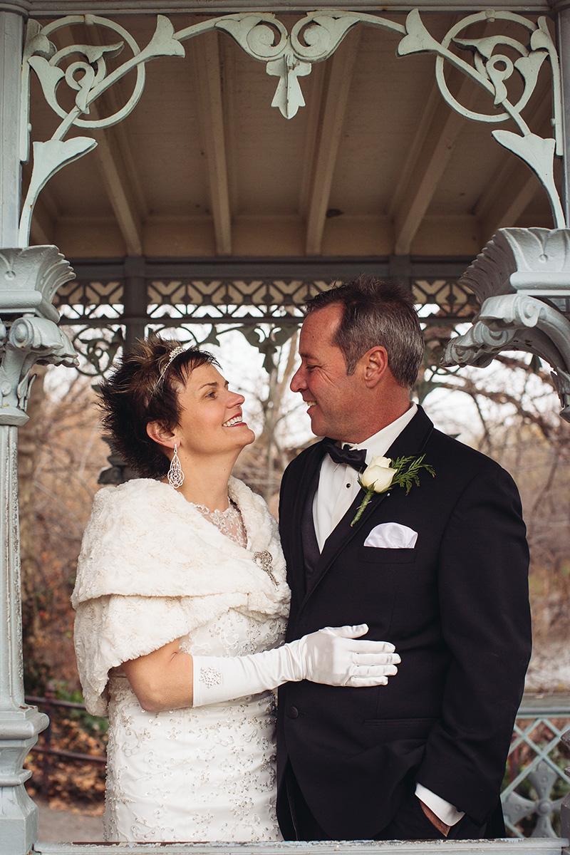 Ladies Pavilion elopement portraits