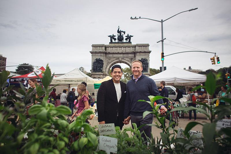 Prospect park green market