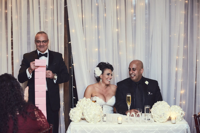 Bride's father toast