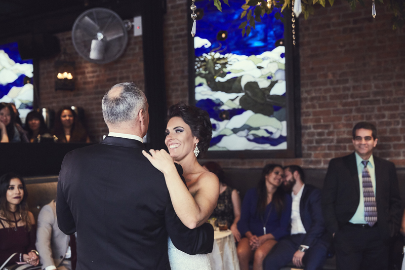 Bride dance with her father