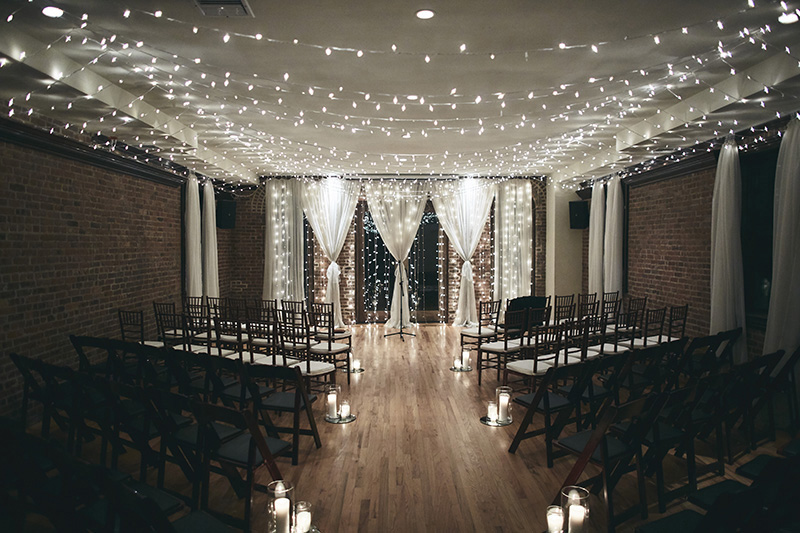 Picture of the wedding room