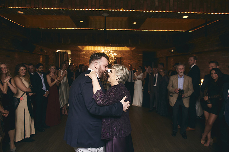 Groom dancing with his mother in law