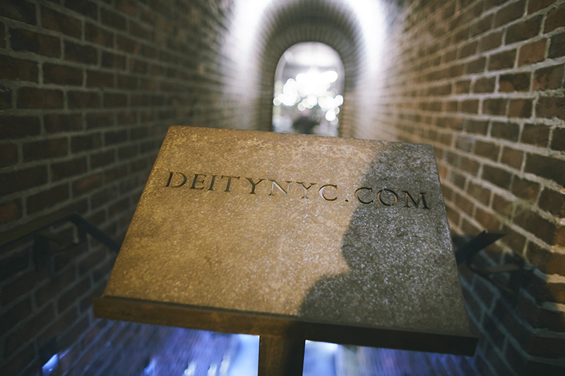 Deity NYC entrance