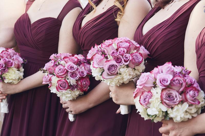bridesmaids bouqets