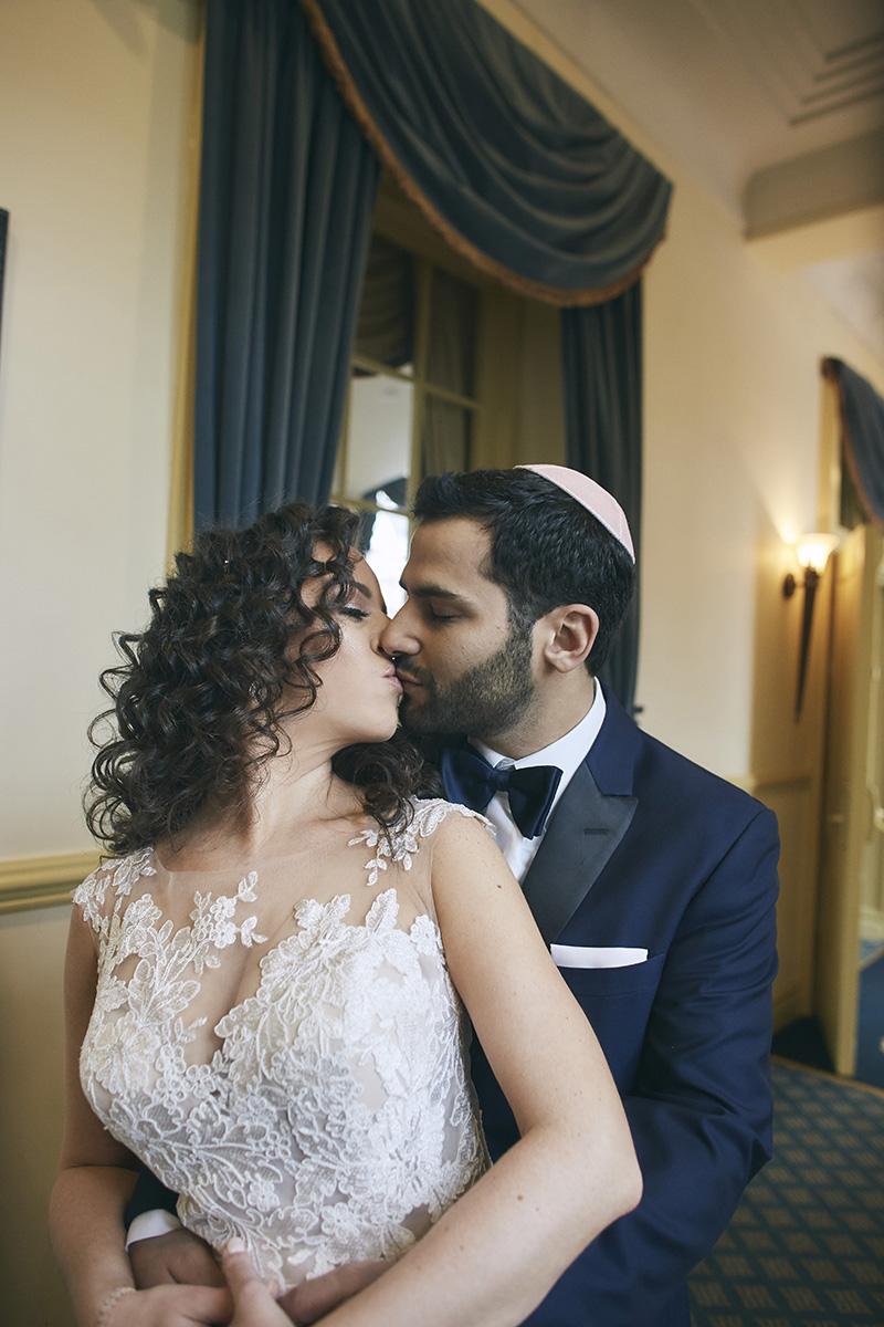 Orthodox Jewish brides and grooms portrait
