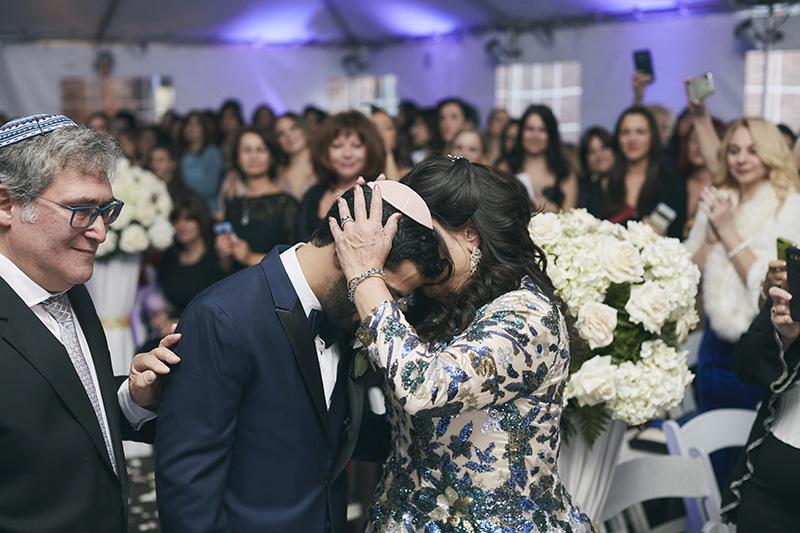 Orthodox Jewish wedding ceremony