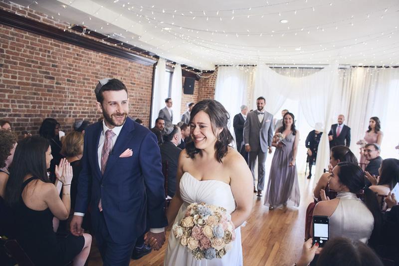 end of the jewish wedding ceremony