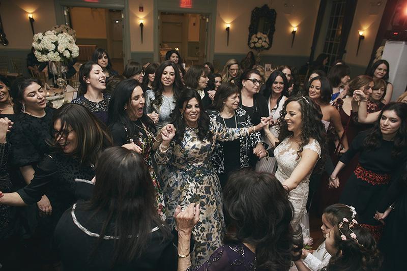 Orthodox Jewisg wedding party