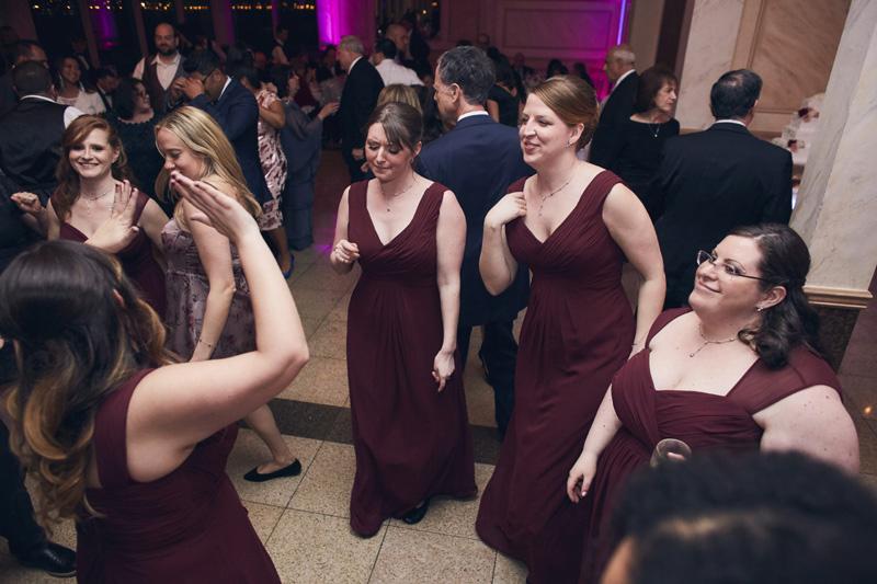 bride maids at Wedding party