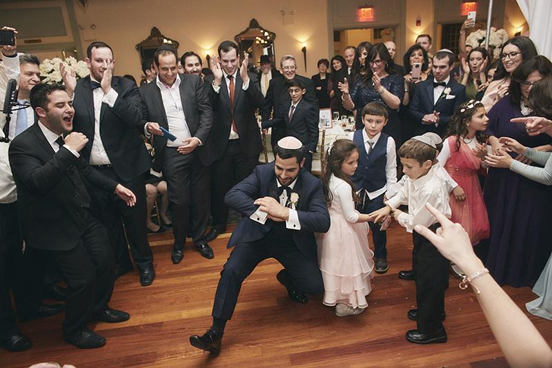 NYC Orthodox Jewish wedding dance