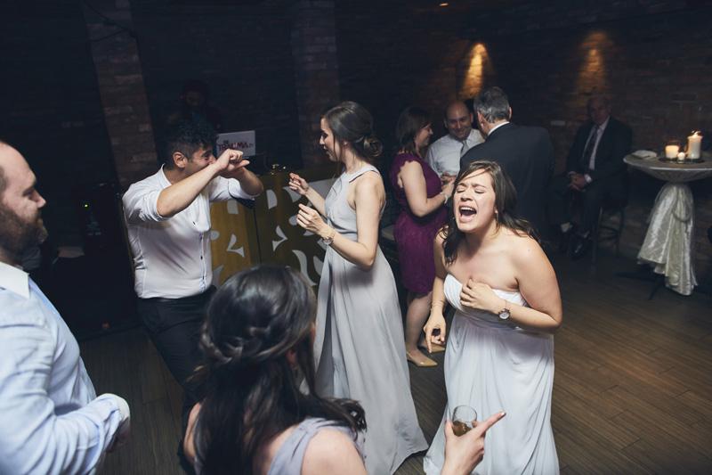 bride dancing at the wedding party
