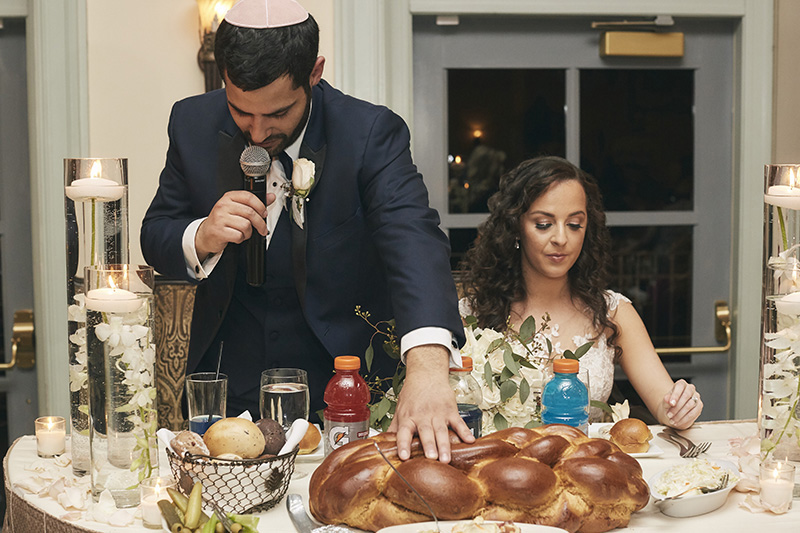 blessing the challah