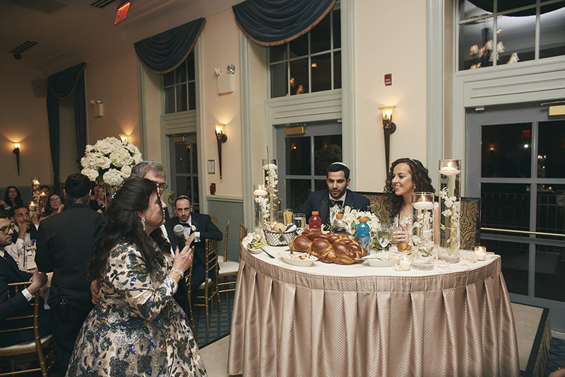 wedding speech at Orthodox Jewish wedding