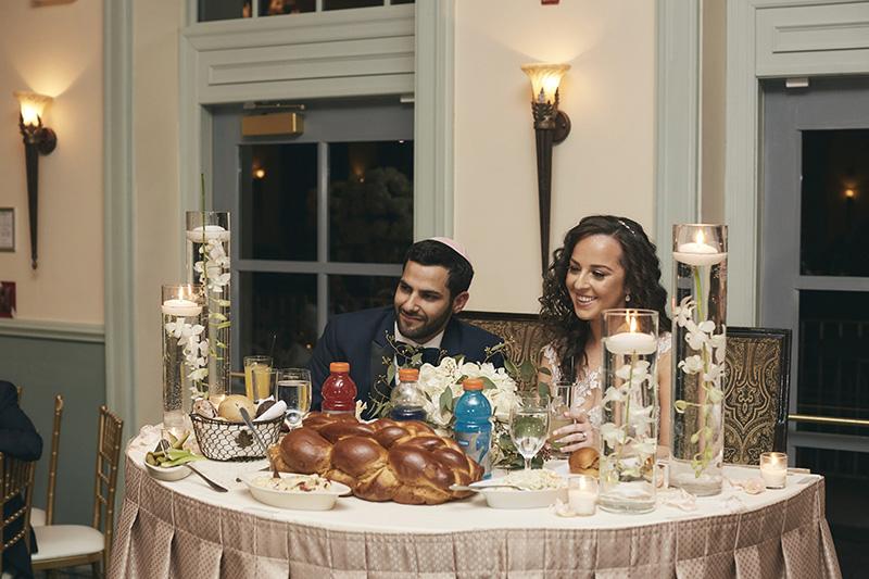 Orthodox jewish married couple