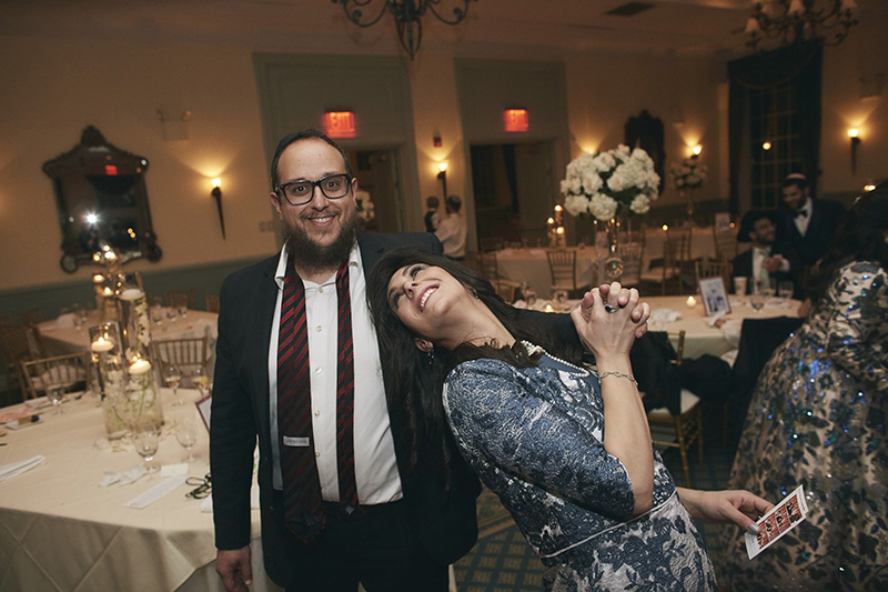 NYC Orthodox Jewish wedding celebration