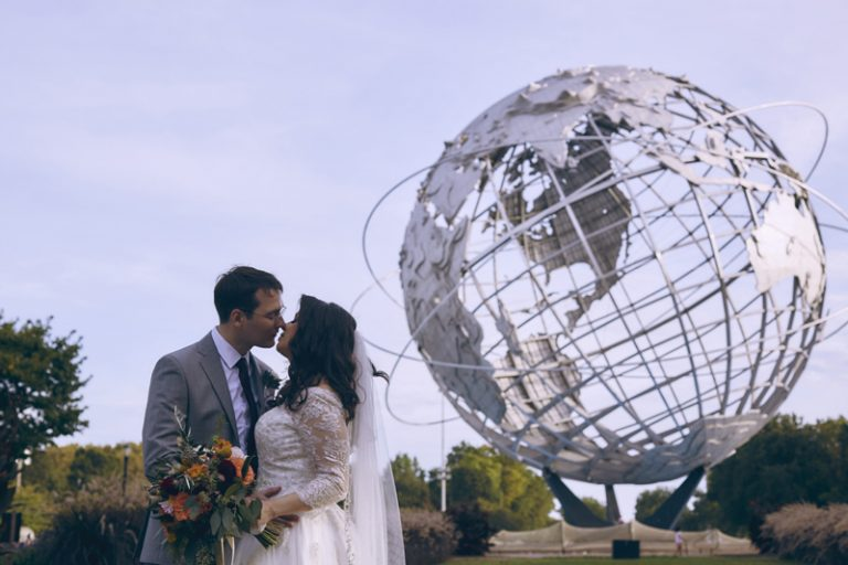 Flushing meadows wedding