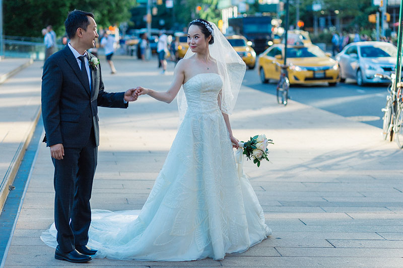 Lincoln Center wedding pictures