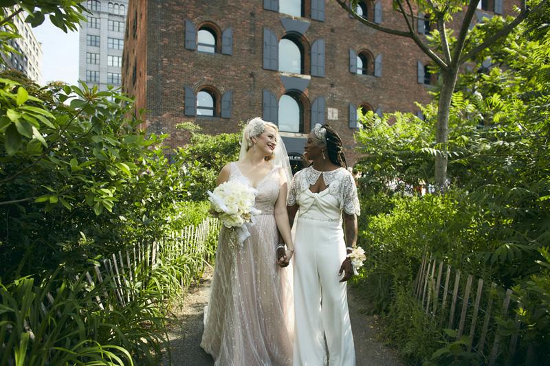 Brooklyn Bridge Park wedding photography