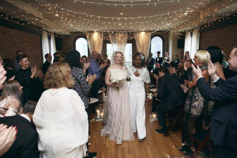 Same sex wedding photographer NYC