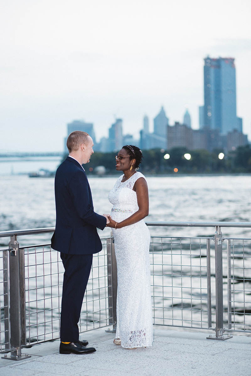 Williamsburg Bridge wedding