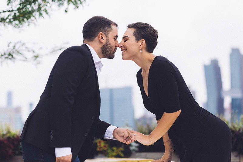 Candid engagement photographer