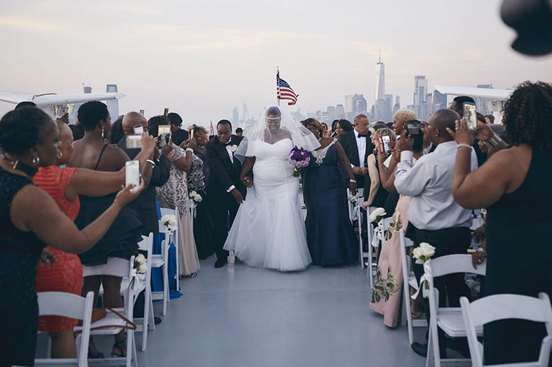 Nyc Yacht Weddings By Le Image New York Photographers