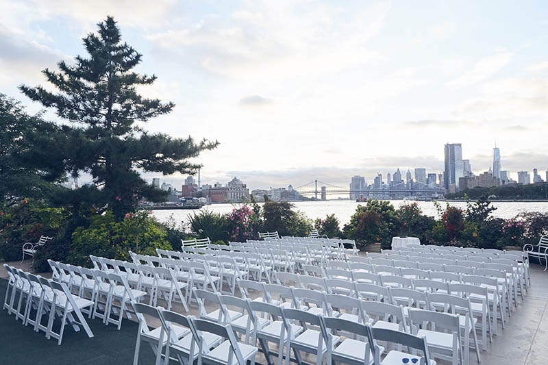 NYC wedding venues on the water