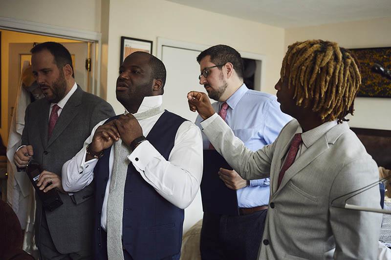 Interracial wedding photography Brooklyn