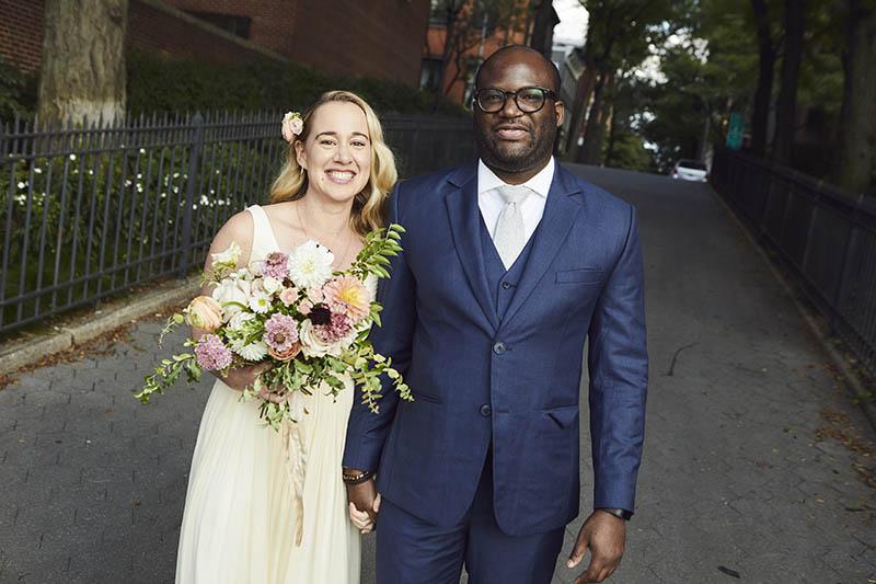 Interracial wedding photography NYC