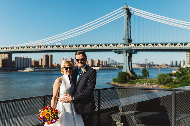 DUMBO elopement photography
